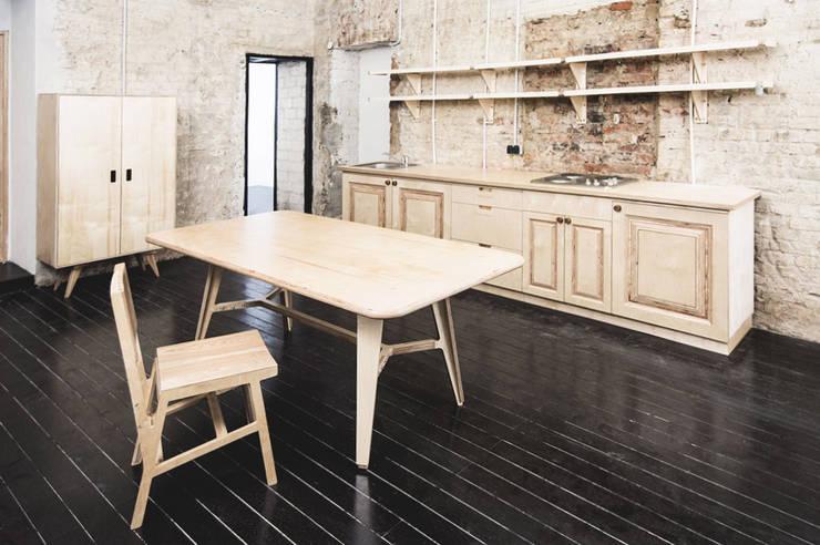 Резиденция художника «ЗАРЯ»: Кухни в . Автор – Concrete jungle