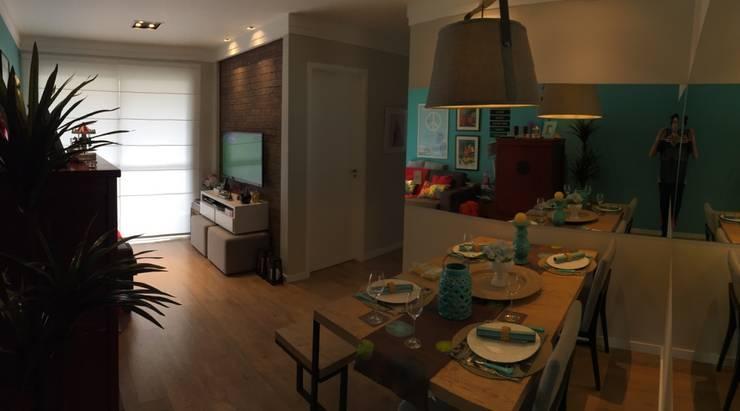 Salas: Salas de estar modernas por Vitor Dias Arquitetura