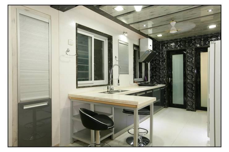 Cozinha  por sayyam interiors.