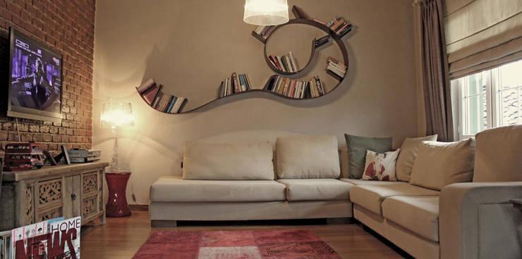 Livings de estilo  por Bilgece Tasarım