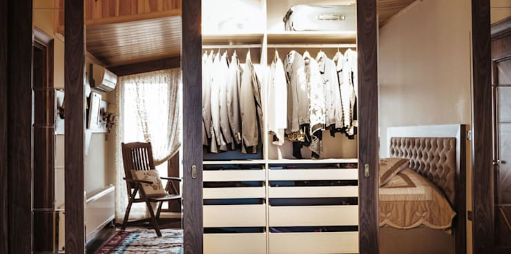 Bilgece Tasarım – Gül & Emin Timur:  tarz Giyinme Odası