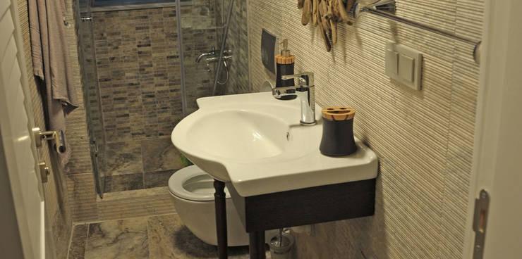 Bilgece Tasarım – Filiz Ozcan Yaz:  tarz Banyo, Modern