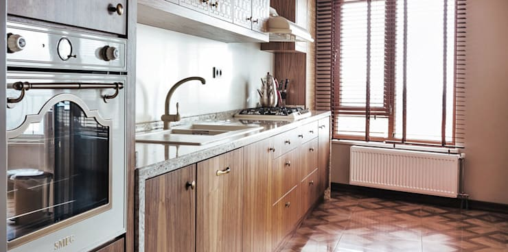 Projekty,  Kuchnia zaprojektowane przez Bilgece Tasarım
