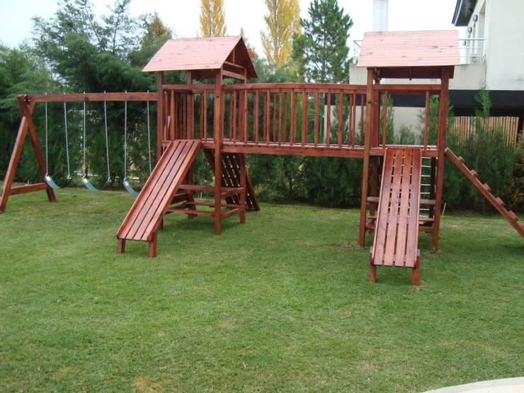 Casitas de madera y juegos de plaza : Jardines de estilo rural por cordoba