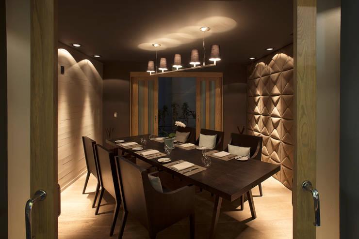 Bresca: Restaurantes de estilo  por Hat Diseño