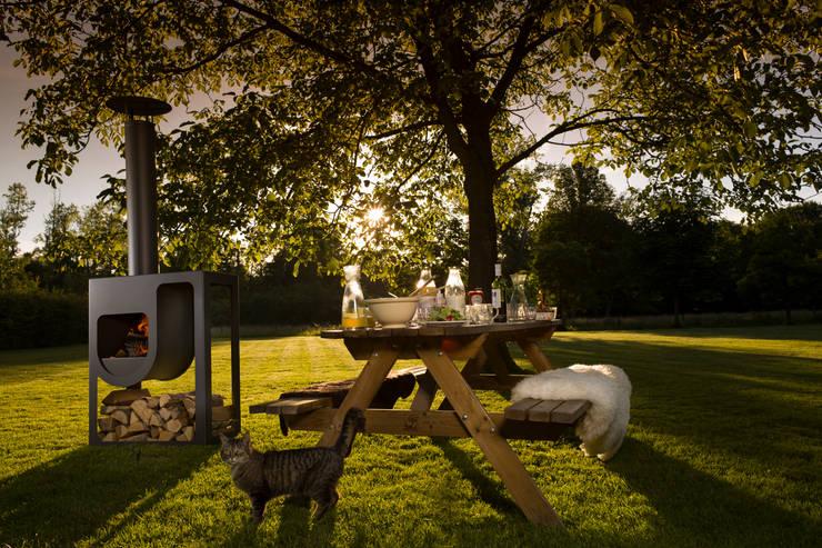 Spot buitenkachel:  Tuin door Harrie Leenders