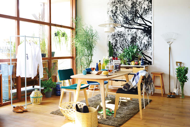 ELD INTERIOR PRODUCTS: iskandinav tarz tarz Yemek Odası