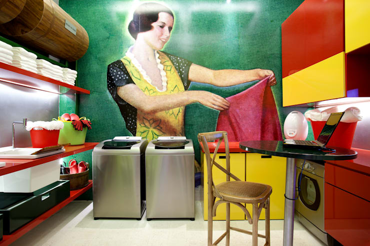 Espacios comerciales de estilo  por CARMELLO ARQUITETURA,