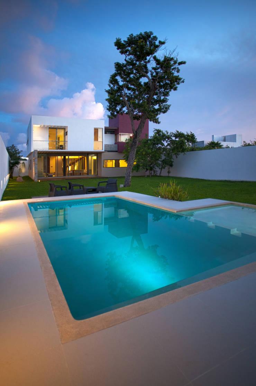 Casa Jabin.: Casas de estilo  por TAFF