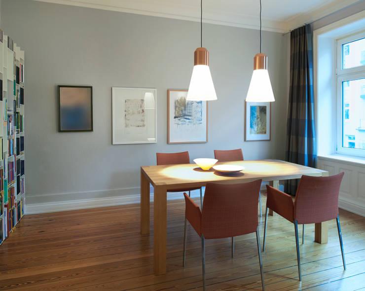 Umgestaltung einer Etagenwohnung in HH:  Esszimmer von Stockhausen Fotodesign