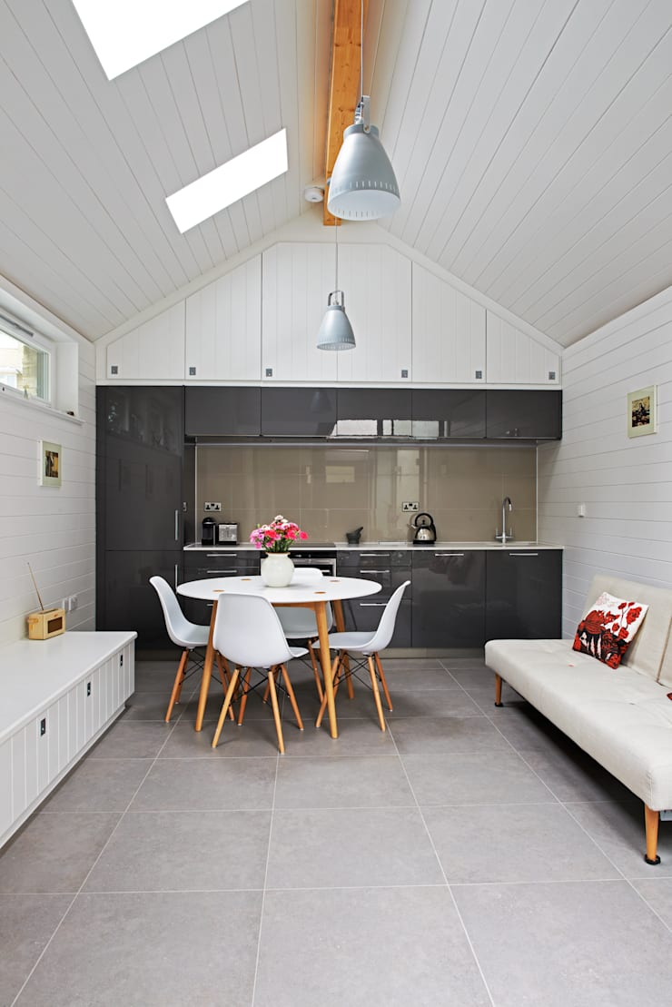Kitchen by E2 Architecture + Interiors, Modern