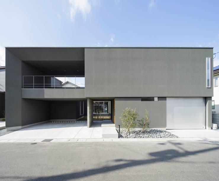 外観: NEWTRAL DESIGNが手掛けた家です。