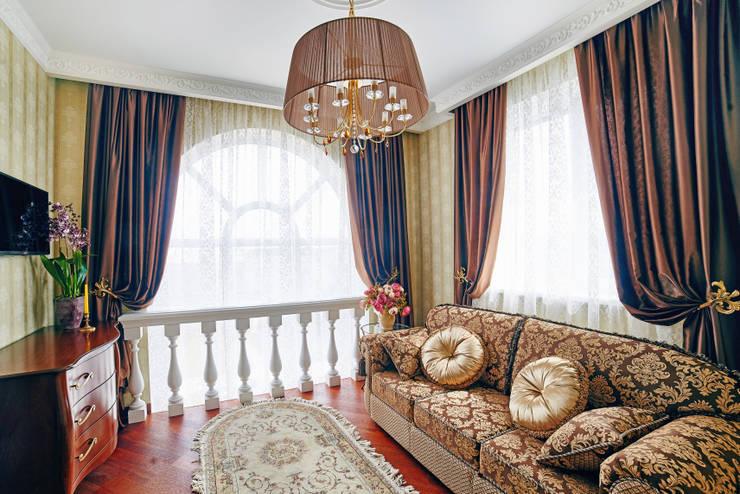 Интерьеры жилого дома в пос.Дубовое: Спальни в . Автор – ООО 'Архитектурное бюро Доценко'