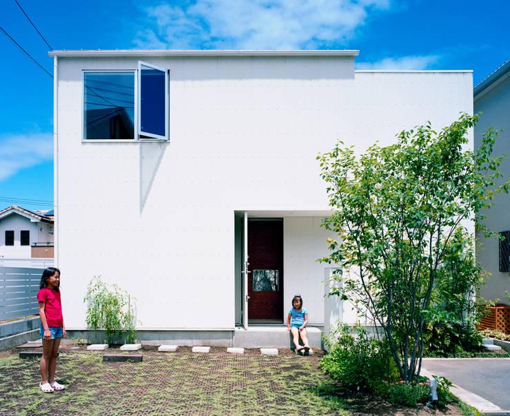 萩原健治建築研究所의  주택