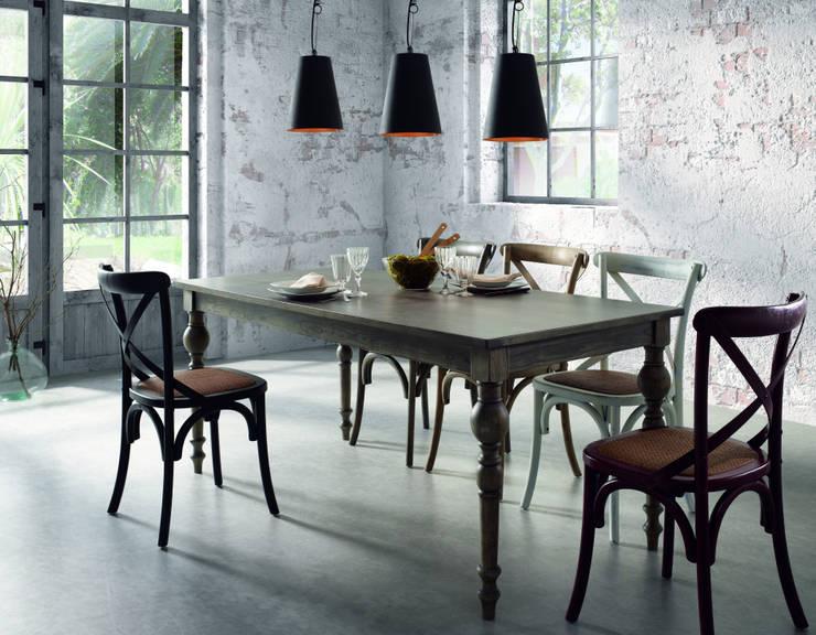 Pomysł na oświetlenie jadalni: styl , w kategorii Jadalnia zaprojektowany przez Le Pukka Concept Store,