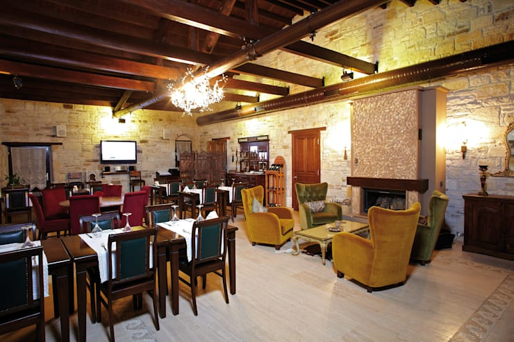 Griffon Boutique Hotel – Fabrika Restaurant:  tarz Yemek Odası, Kolonyal