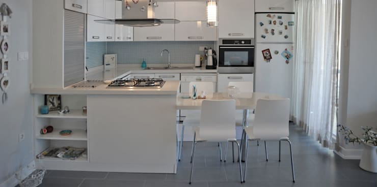 Bilgece Tasarım – Sema & Harun Gökbayrak:  tarz Mutfak,