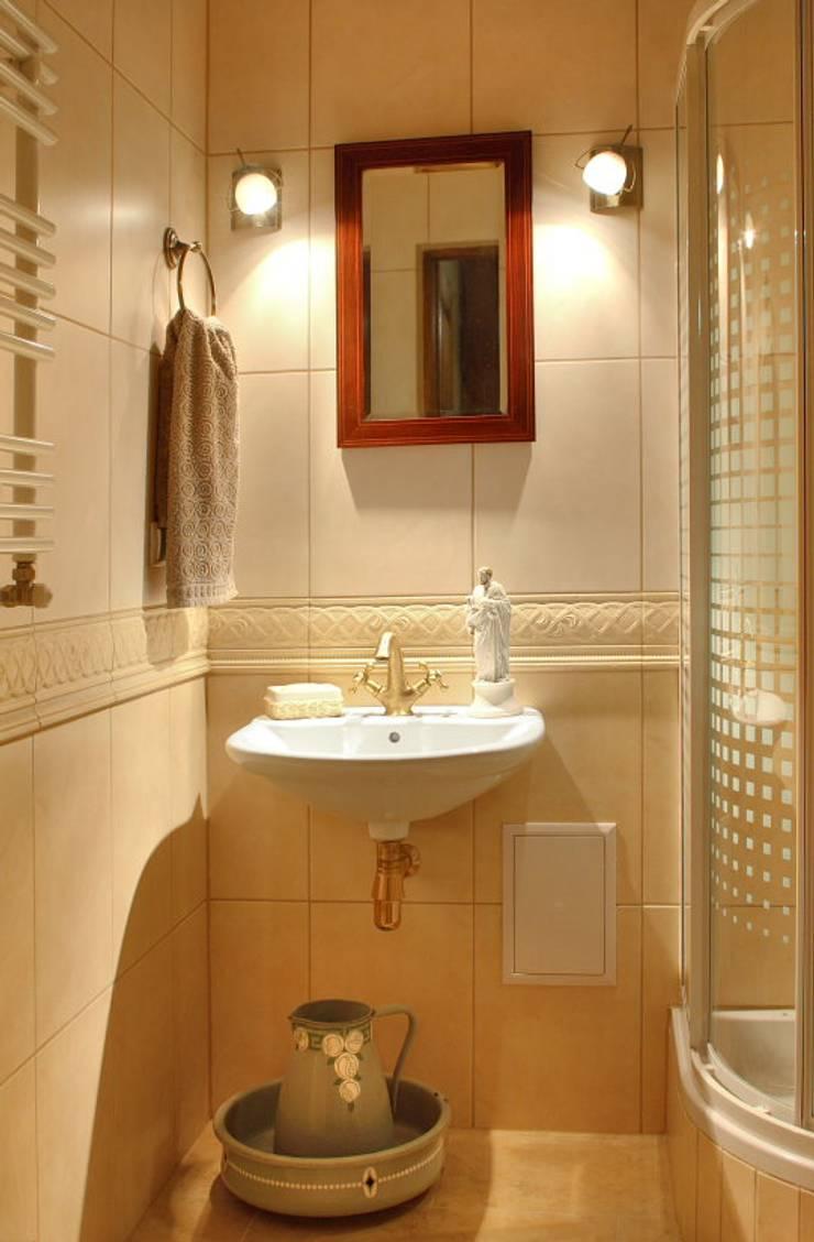 Apartament – Warszawa: styl , w kategorii Łazienka zaprojektowany przez t