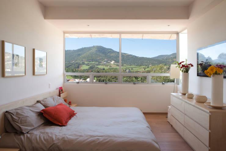 moderne Schlafzimmer von Grupo Nodus Arquitectos