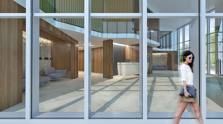 ЖИЛОЙ КОМПЛЕКС <q>ЗВЕРИНЕЦКИЙ</q>: Медиа комнаты в . Автор – Lugerin Architects