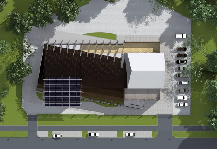 Общий план сооружения: Дома в . Автор – CHM architect