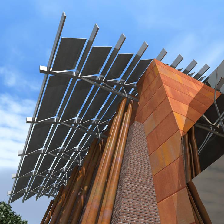 Реконструкция и перепрофилирование промышленного здания 2011-2014: Дома в . Автор – CHM architect