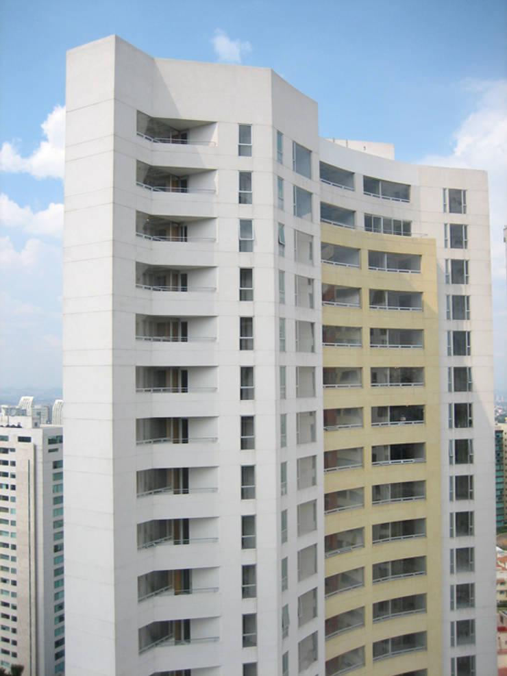 Residencial Aquario: Casas de estilo  por Grupo Nodus Arquitectos