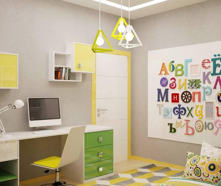 Краски детства: Детские комнаты в . Автор – Студия дизайна Interior Design IDEAS