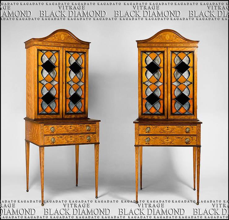 Мебель. Витраж - BLACK DIAMOND: Гостиная в . Автор – KAGADATO