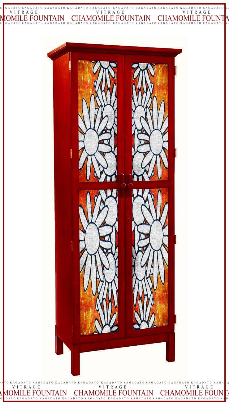 Мебель. Витраж - CHAMOMILE FOUNTAIN: Гостиная в . Автор – KAGADATO