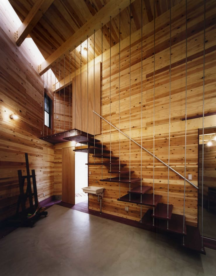 金岡のアトリエ: Y's建築工房 一級建築士事務所が手掛けた和室です。,