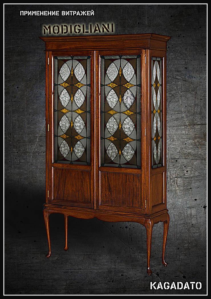 Мебель. Витраж - MODIGLIANI: Гостиная в . Автор – KAGADATO