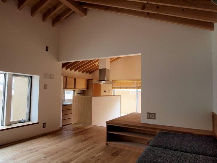 吉祥寺の家: 有限会社エムテイ建築工房が手掛けたキッチンです。