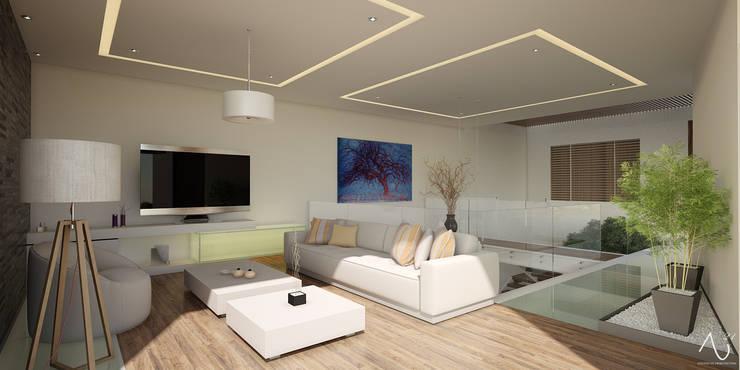 Медиа комнаты в . Автор – 21arquitectos