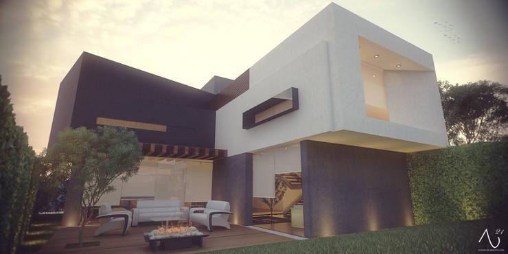 Houses by 21arquitectos, Minimalist