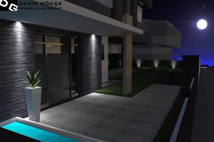 Deniz Gökçe Mimarlık ve İnşaat – Villa tasarım | Villa Design: modern tarz Evler