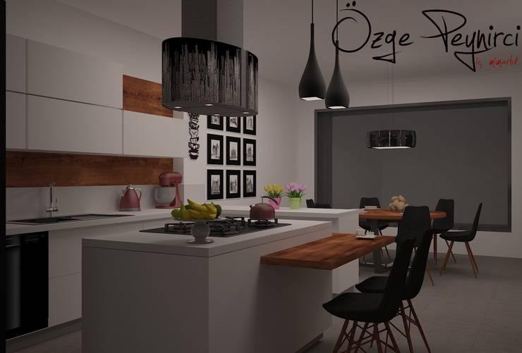 Deniz Gökçe Mimarlık ve İnşaat – Mutfak Tasarım | Kitchen Design: modern tarz Mutfak