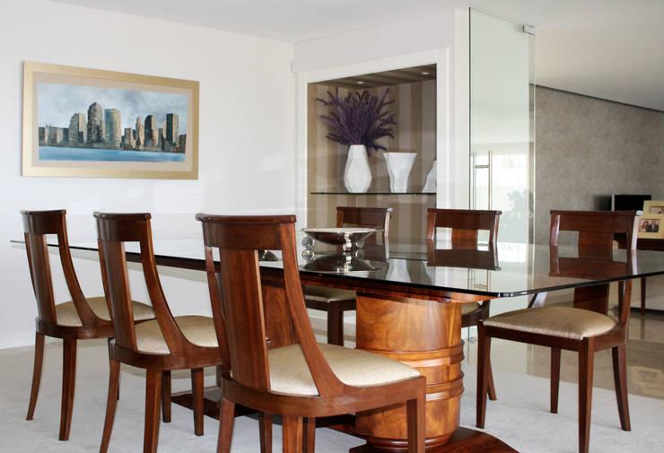 sala de jantar: Sala de jantar  por Joana Conceição - Architecture and Interior design