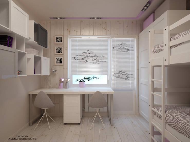 Projekty,  Pokój dziecięcy zaprojektowane przez ALENA SERGIENKO