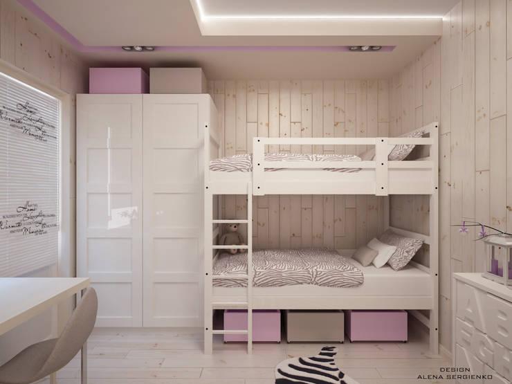 Детские комнаты в . Автор – ALENA SERGIENKO