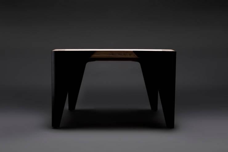Quadra: styl , w kategorii Salon zaprojektowany przez METAFOR