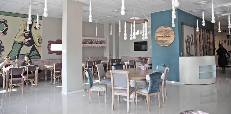 Bilgece Tasarım – Merdane Cafe:  tarz Yeme & İçme