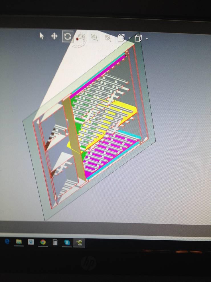 Deseño con CAD:  de estilo  por Smoke King Ahumadoras