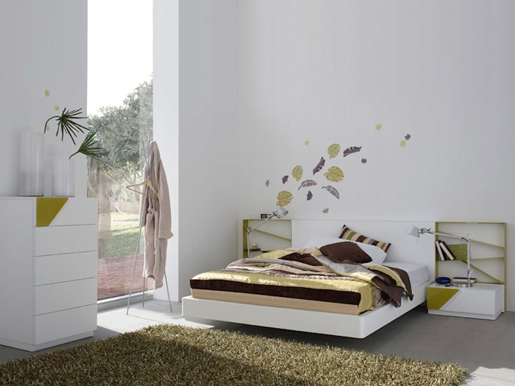 click: Dormitorios de estilo  de Alum Design Works