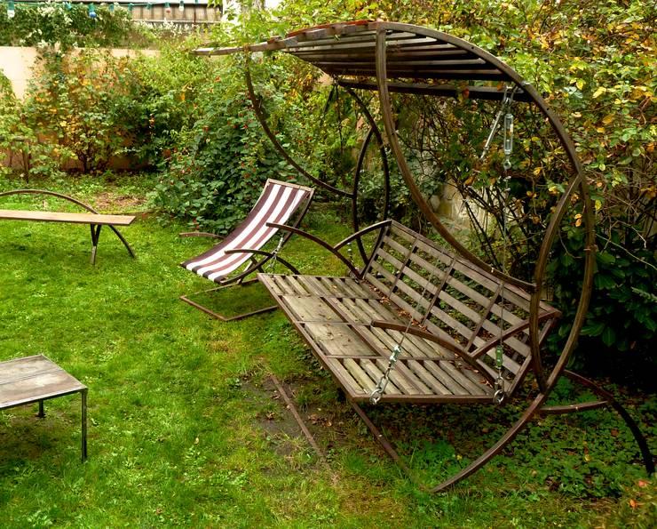 Jardín de estilo  por récup-éclaire (Thibaut Richard)