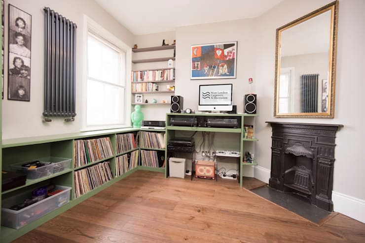 Multimedia room by West London Carpentry & Decoration