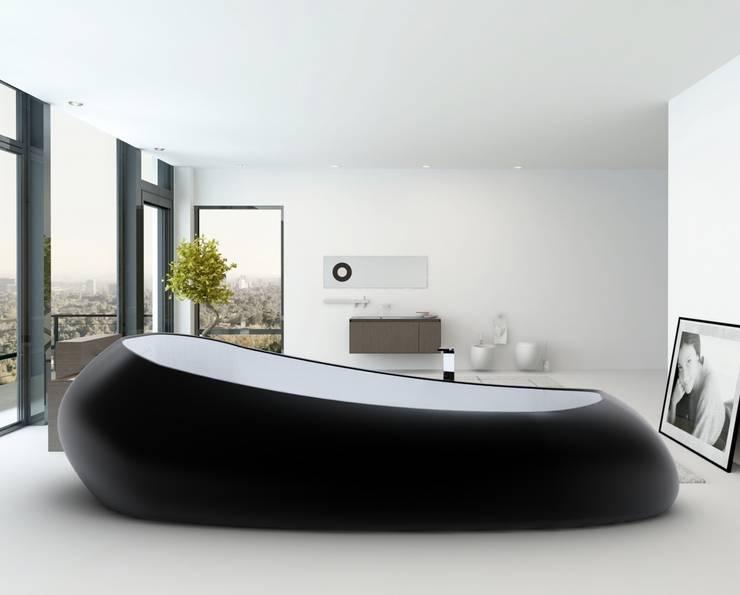 Vasca SPACE SHIP: Bagno in stile in stile Moderno di Studio Ferrante Design