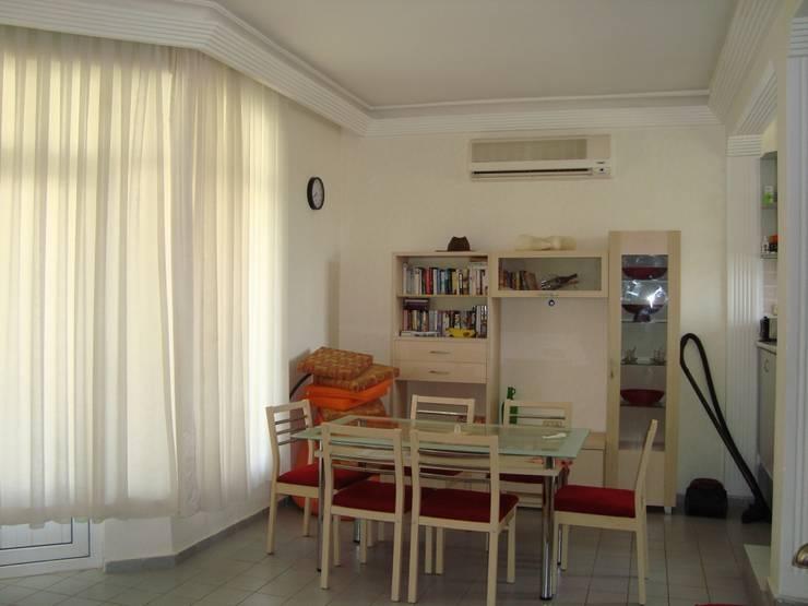 Alanya Sunlife Real Estate & Constructions – Alanya Sun Life: akdeniz tarzı tarz Yemek Odası