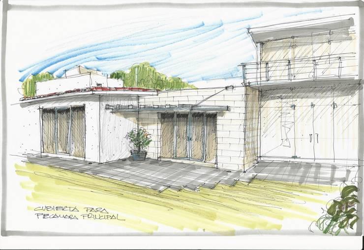Proyecto Agua:  de estilo  por HERRERA ARQUITECTOS