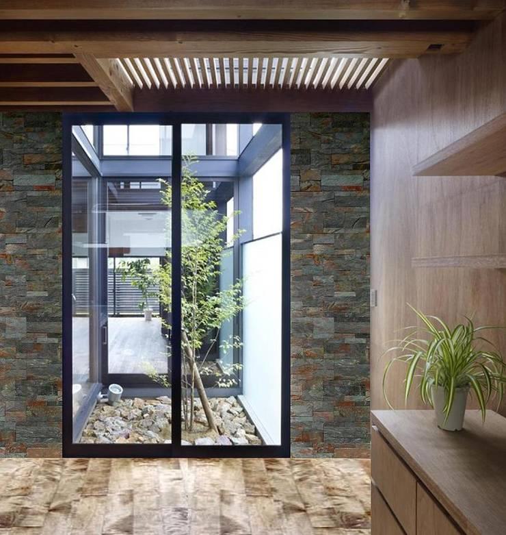 Fotos de Obras: Casas de estilo moderno por Alta calidad en piedras